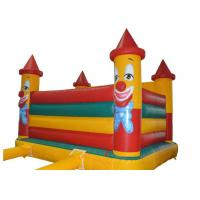 Wholesale Custom Character Children Clown Happy Hop Jumping Castle For Advertising Promotion from china suppliers