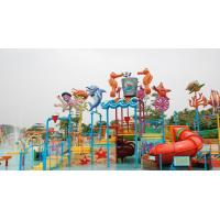 Wholesale OEM Split Rock Water Park Equipment Safety , Durable Playground Equipment For Parks from china suppliers