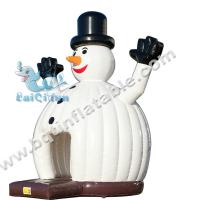 Wholesale Inflatable Snowman bouncer,inflatable Christmas bouncer,inflatable holiday jumper from china suppliers