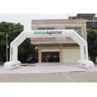 Wholesale Outdoor Event Entrance Arch  / Advertising Finish Line Blow Up Arch from china suppliers