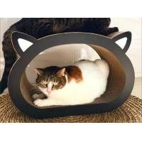Quality Head Shape Corrugated Cardboard Cat Furniture Renewable Resources To Trim Claws for sale