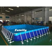 China Outdoor Water Games Mini Inflatable Water Pools With Water Filtration System on sale