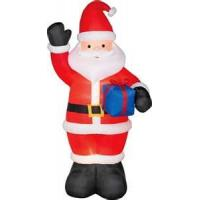 Wholesale ODM coated nylon Inflatable Santa claus outdoor christmas blow ups Decorations from china suppliers