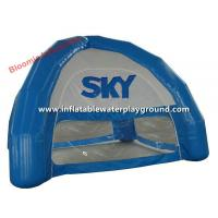 Wholesale Small Blue Four Season Inflatable Dome Tent For Outdoor Promotion / Exhibition from china suppliers