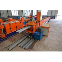 Wholesale Two Waves Highway Guardrail Roll Forming Machine , Steel Roll Forming Machine  from china suppliers