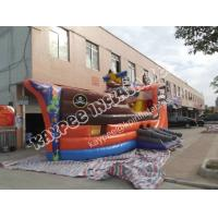 Wholesale Hot sell Inflatable pirate Ship slide, ,Inflatable boat slide,standard slide from china suppliers