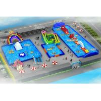 China Summer Entertainment Inflatable Water Slide Park with High Frequency Welding on sale