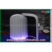 Wholesale 3mL X 2mW X 2.3mH Inflatable Igloo Photo Booth Dome Tent With LED Light from china suppliers