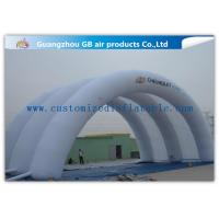 Wholesale White Inflatable Arch Tent / Inflatable Tunnel Tent With Oxford Cloth Material from china suppliers