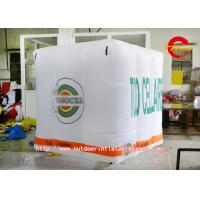 Wholesale Large Square Air Lift Advertisement Balloon Inflatable Products , Whit from china suppliers