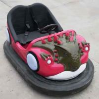 Wholesale Dinosaur Bumper Cars Ride Seamless FRP Body Soft Backrest Stereo Music from china suppliers