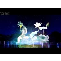 China PC Control Type Water Screen Projection Movie Show Large Scale Custom Design on sale