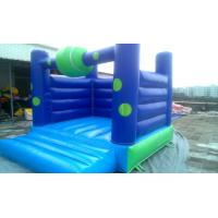 Wholesale Ocean Blue Commercial Bounce Houses Jumping With PVC Tarpaulin from china suppliers