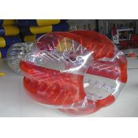 Customized Fire Resistant Outdoor Inflatable Toys Walk In Plastic Bubble Ball