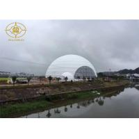 China Snow Load Geodesic Dome Tent Steel Structure For Fashion Show Exhibition on sale