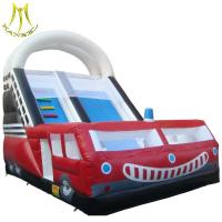 Wholesale Hansel outdoor commercial playground inflatable slide for water park for sale from china suppliers