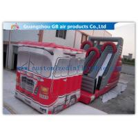 Wholesale Outdoor Truck Shape Inflatable Water Slides For Kids And Adults Customized from china suppliers