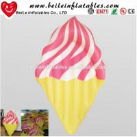 Wholesale Custom PVC Inflatable ice cream floating mattress from china suppliers