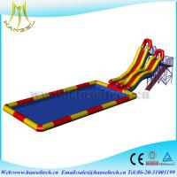 Hansel popular inflatable bounce house waterslide rental business