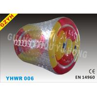 Wholesale 0.9mm Colorful PVC Custom Inflatable Water Roller / Pool Walker Roller Ball YHWR 006 from china suppliers