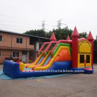 Wholesale 4 In 1 Amusement Park Inflatable Bounce Houses Rentals EN14960 Approvals from china suppliers