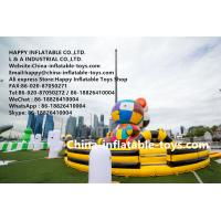 China Gigantic art zoo inflatable amusement park , customized inflatable bouncer toys on sale