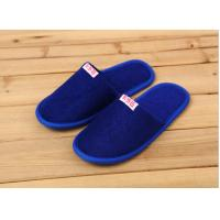 Wholesale Comfortable Cotton Velour Disposable Hotel Slippers , Terry Cloth Flip Flop Slippers from china suppliers