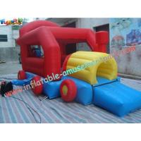 Wholesale Car Inflatable Bounce Houses With Mini Jumper Slide For Children Play from china suppliers