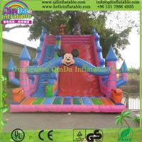 Wholesale Jumping Bouncy Castle with SlideInflatable Games Inflatable Jumper Bouncy Castle for Sale from china suppliers