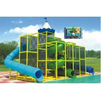 Buy cheap Children Jungle Water Slide Outdoor Water Playground Equipment With Spiral Slide from wholesalers