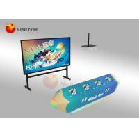 Buy cheap FRP + Steel Interactive Wall Projection Games AR Painting Fish For Kids from wholesalers