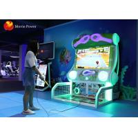 Wholesale Electronic Coin Pusher Virtual Reality Simulator Tennis Goal Game 800W 220V from china suppliers