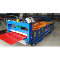 Wholesale 3kw Aluminium Wall Panel Roll Forming Machine with Hydraulic moulding cutter from china suppliers
