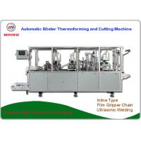 Wholesale Dual Head Blister Thermoforming Machine , Blister Packaging Equipment 380V/18KW from china suppliers