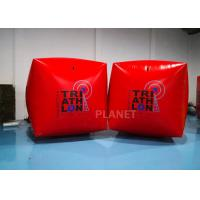 Wholesale 1.5M Cube Race Marker Inflatable Water Buoys For Water Sports Event from china suppliers