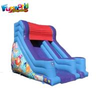 Wholesale 0.55mm PVC Tarpaulin Inflatable Bouncer Slide for Kids , 1 Year Warranty from china suppliers