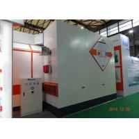 Wholesale 7m LED light Car Paint Spray Booth Equipment Rock Wool Panel With Siemens Motor from china suppliers