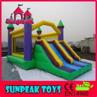 Wholesale COM-184 Sunpeak With Slide Inflatable Combo from china suppliers