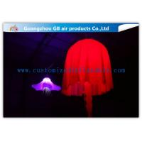 China Colorful Jellyfish Led Inflatable Lighting Decoration For Outdoor Christmas on sale