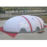 Wholesale 40x20 meters egg sports playground giant inflatable dome tent made of 1 class pvc coated nylon from china suppliers