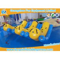 Quality Large Inflatable Kids Teeter Totter Toys For Water Sport Games / Water Game Equipment for sale