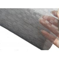 Wholesale Coustom Black & White square Pattern Architectural Glass Laminated Mesh Fabric from china suppliers