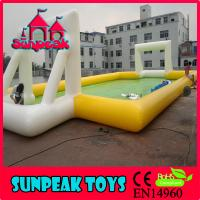 Wholesale F-015 Fun Sport Inflatable Water Soccer Field from china suppliers