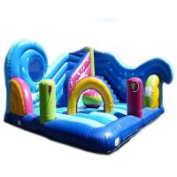 Wholesale 5 In 1 Combi Air Sewing Pvc Inflatable Amusement Park With 1 Year Warranty from china suppliers