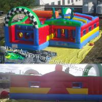 Quality adrenaline rush obstacle course , inflatable obstacle course , inflatable for sale