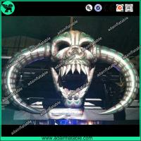 Wholesale 8m Halloween Event Decoration Inflatable Skull/Stage Decoration Inflatable Skeleton Head from china suppliers