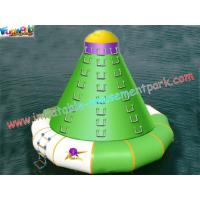 China Inflatable Water Toys commercial grade PVC tarpaulin inflatable climbing wall for kids on sale