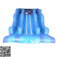 Wholesale Large Ocean Style Pvc Inflatable Water Slides Set For Amusement Park Centre from china suppliers