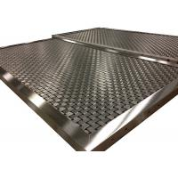 Wholesale Weave Rigid Mesh Type Elevator Cab Mesh Panel With Custom V Aluminum Frame from china suppliers