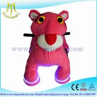 Wholesale Hansel stuffed animals with battery street rides coin operated motorized animal rides from china suppliers